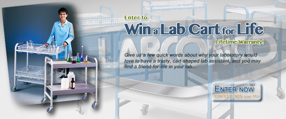 Win a lab cart for a lifetime