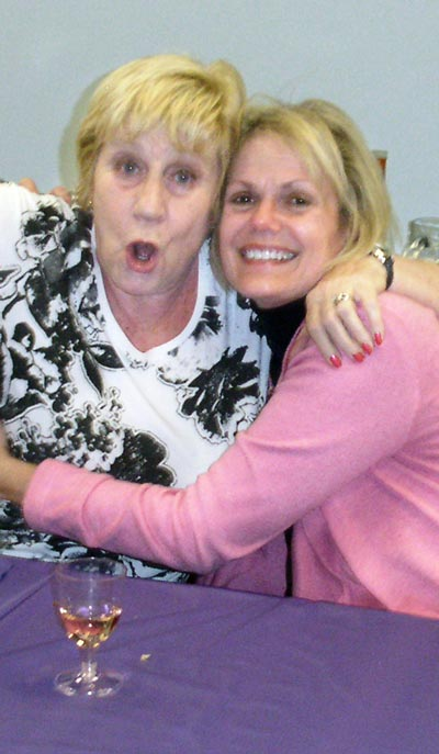Shirley and June at Labconco Ladies Night in 2011