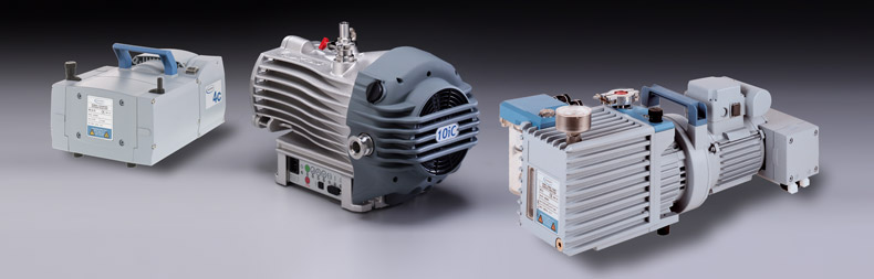 vacuum pumps including diaphragm scroll and hybrid combination pump