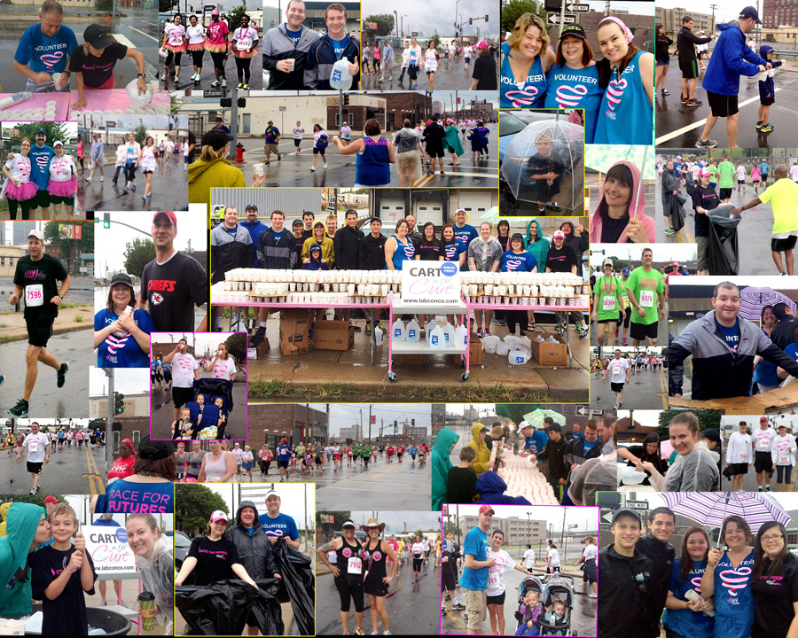 Race for the Cure Labconco Photo Collage 2014 - 900