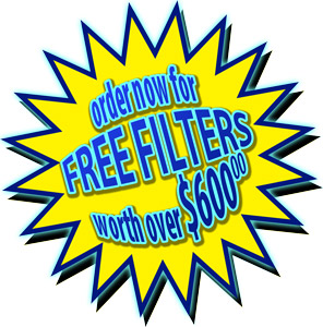 Free WaterPro BT Filters worth 600 dollars - 300