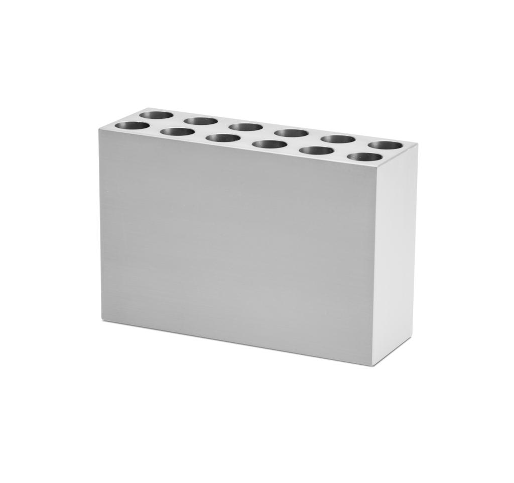 12-place 15ml Conical Aluminum Tube Rack_4026408