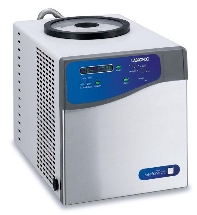 FreeZone Plus 2.5 Liter Cascade Benchtop Freeze Dry System