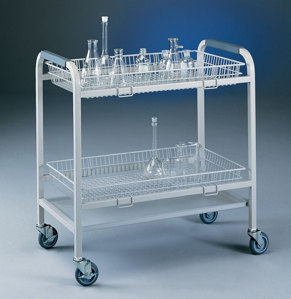 2 Basket Glassware Cart Labconco