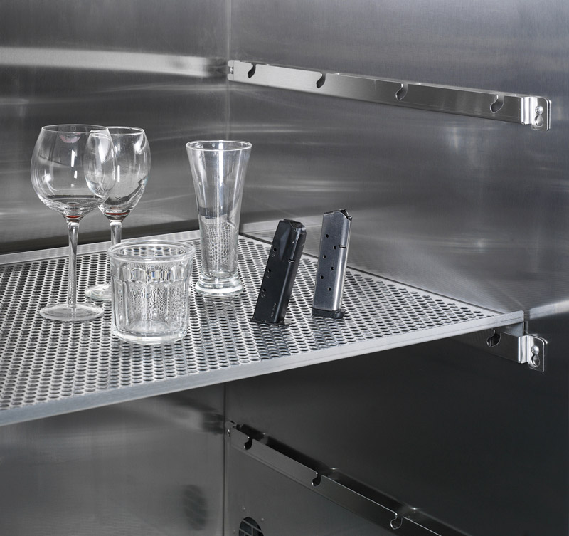 Perforated Shelf in CApture BT