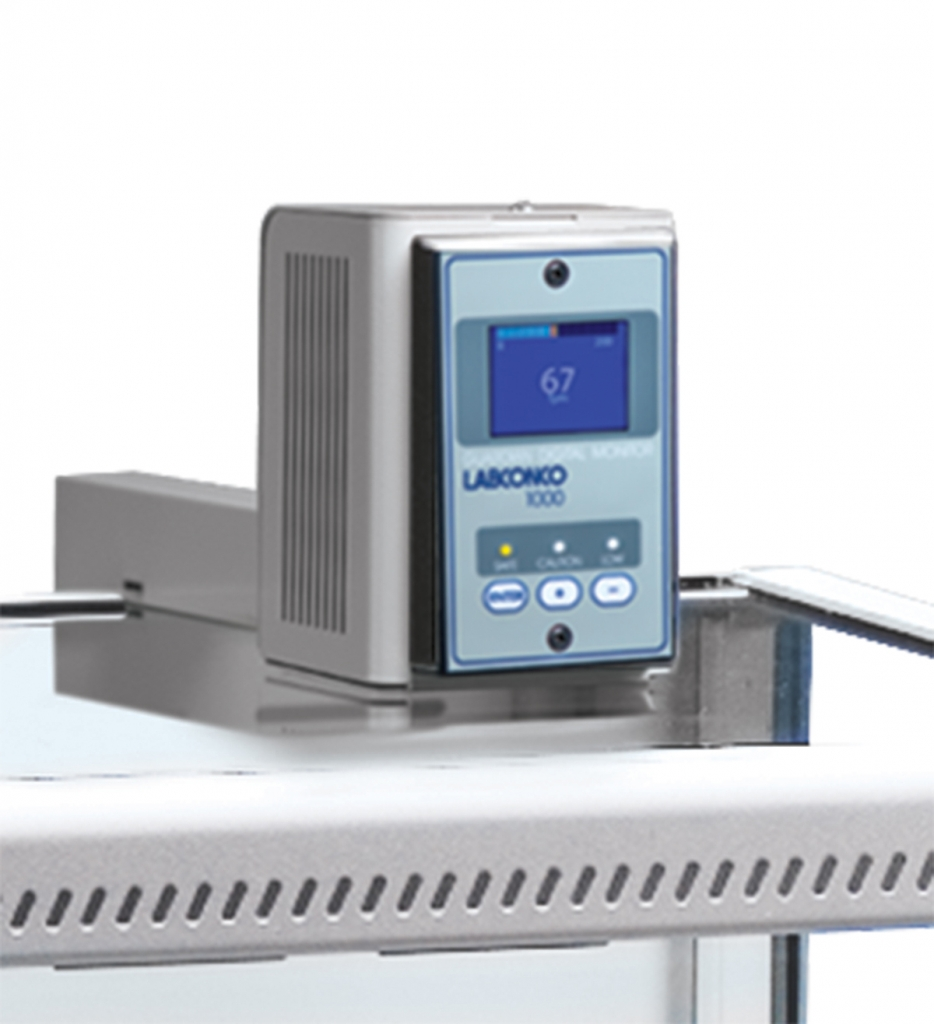 Guardian 1000 Digital Airflow Monitor with Housing