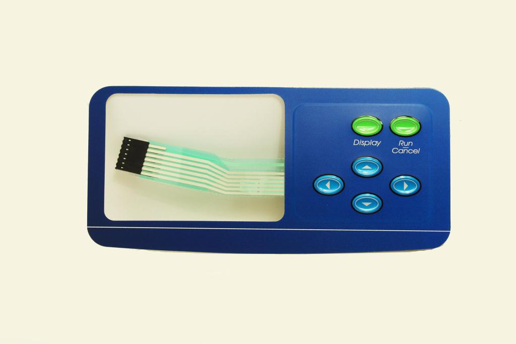 Control Pad Button Label