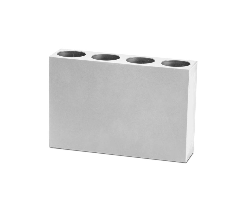 4-place 50ml Conical Aluminum Tube Rack_4026410