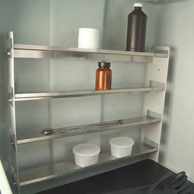 Left-Side Interior Storage Shelf Kit