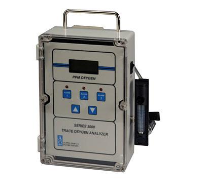 Oxygen Monitor, 0-10,000 ppm