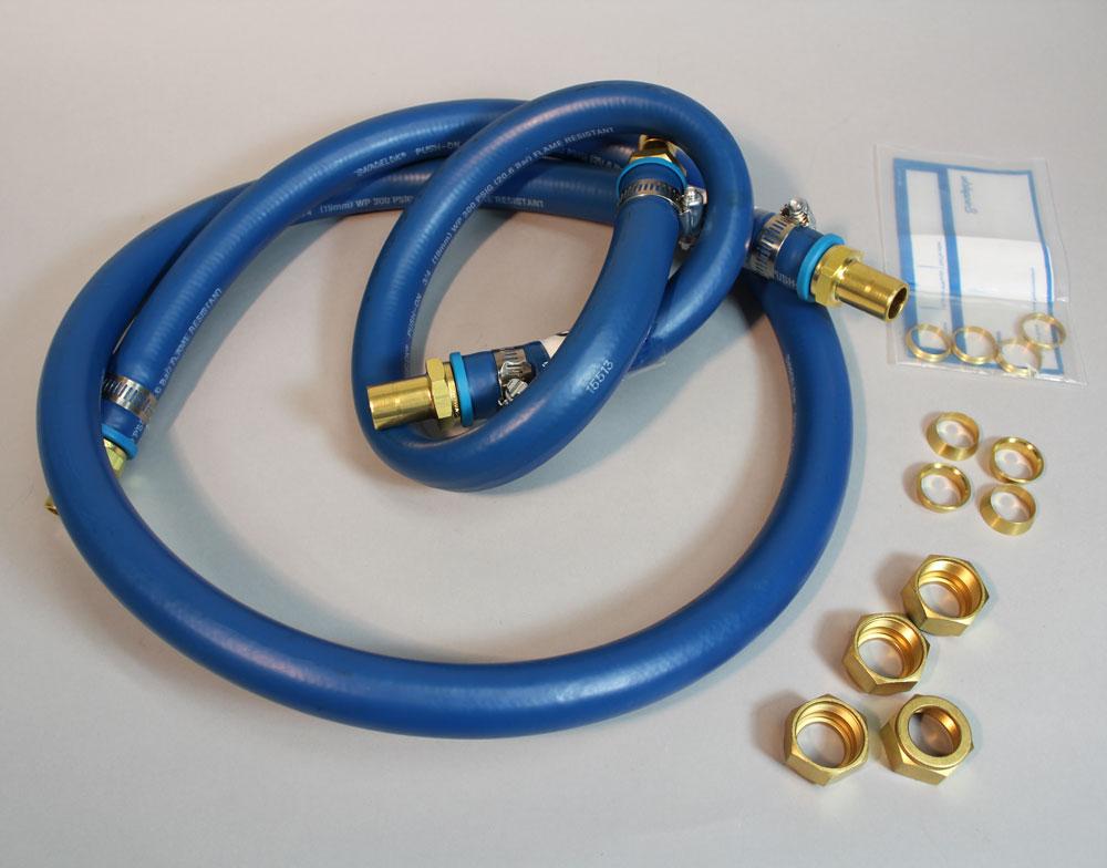 AtmosPure Neoprene Tubing Kit for Single Width Glove Box