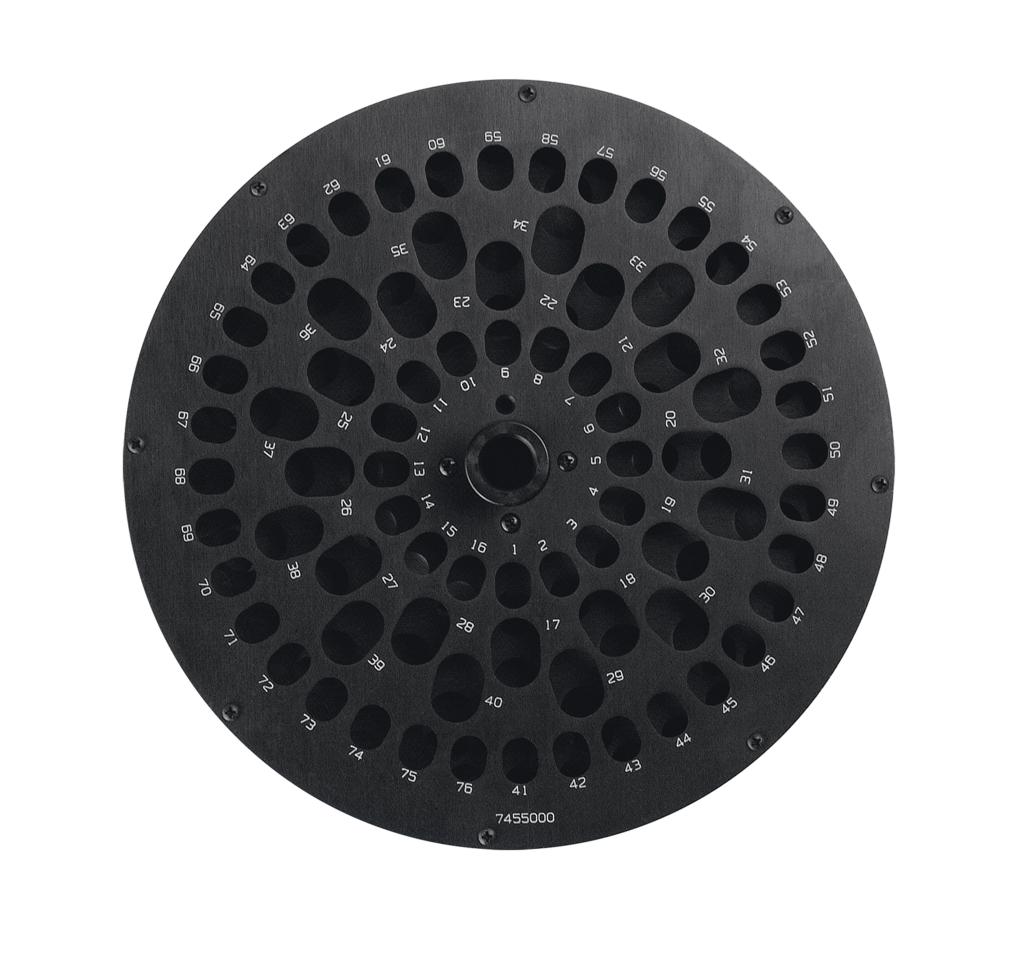 7455000 CentriVap 12-17mm Rotor