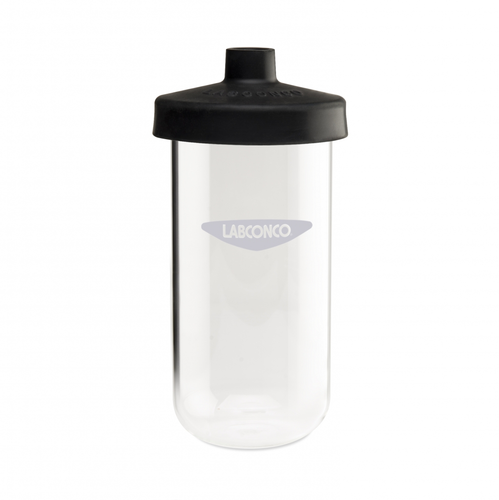 7540900 900 ml Clear Fast-Freeze Flask