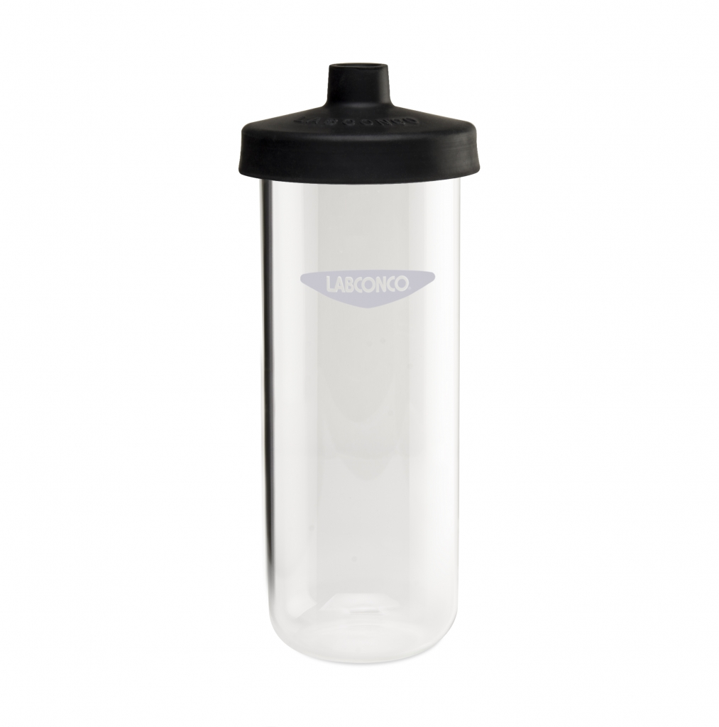7541000 1200 ml Clear Fast-Freeze Flask