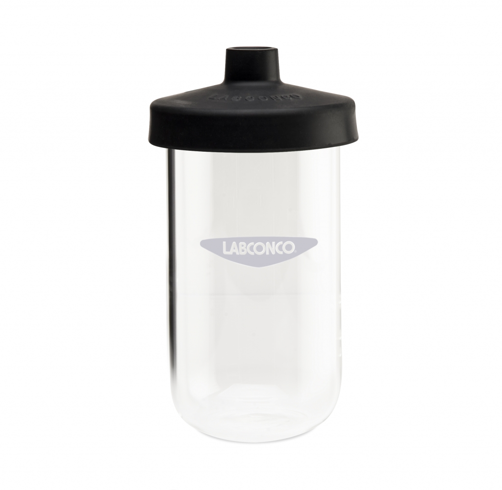 7541100 750 ml Clear Fast-Freeze Flask