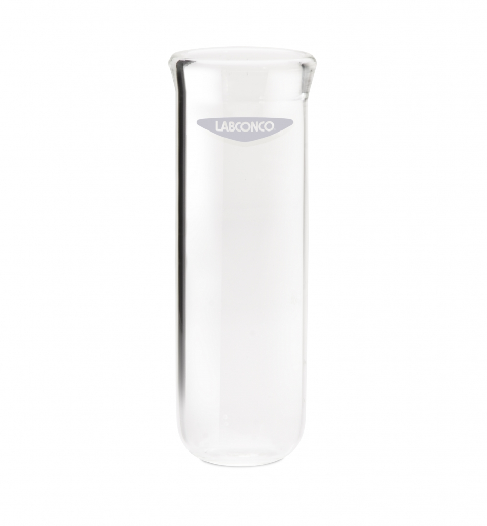 7542200 80 ml Clear Fast-Freeze Flask Bottom