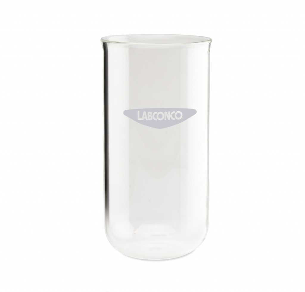 7542900 900 ml Clear Fast-Freeze Flask Bottom