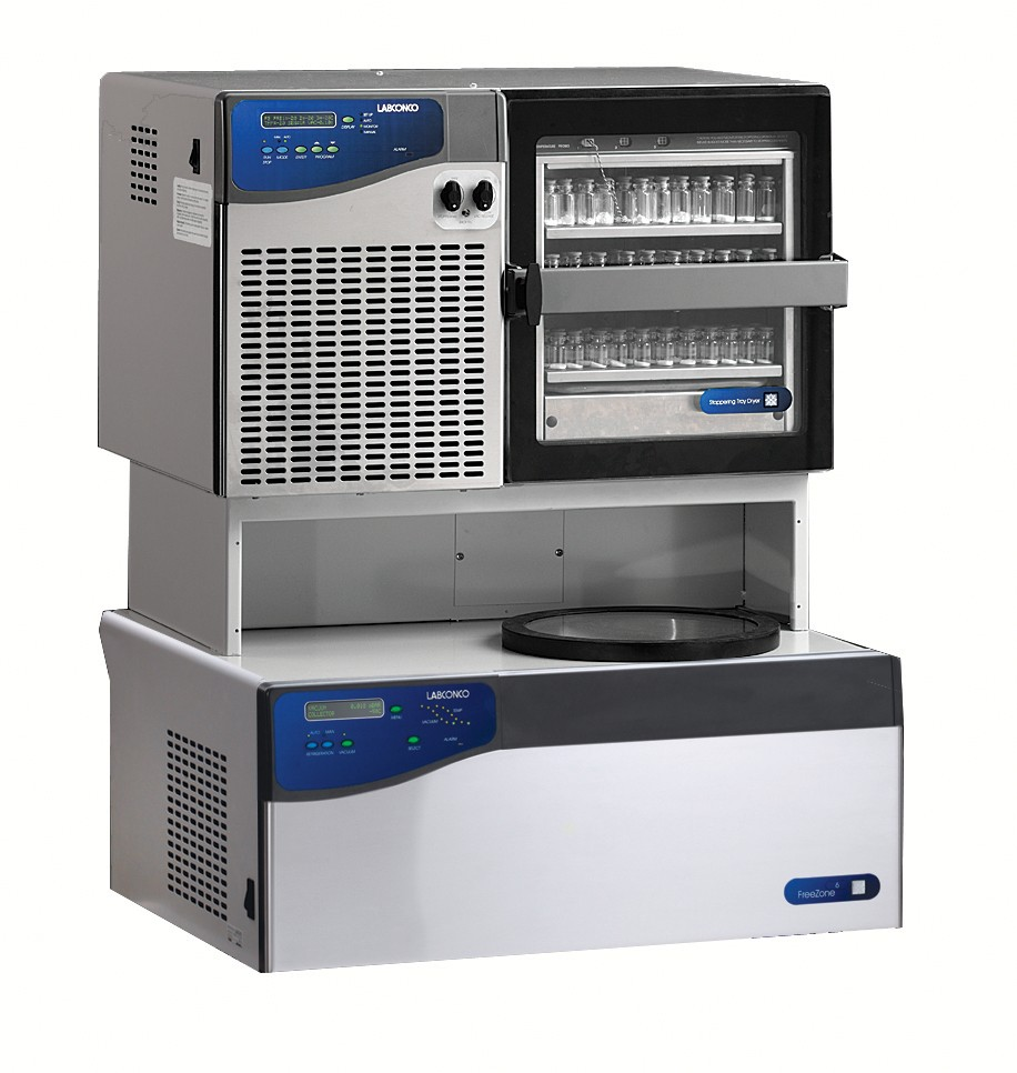 FreeZone 6 Liter Benchtop Freeze Dry System with Stoppering