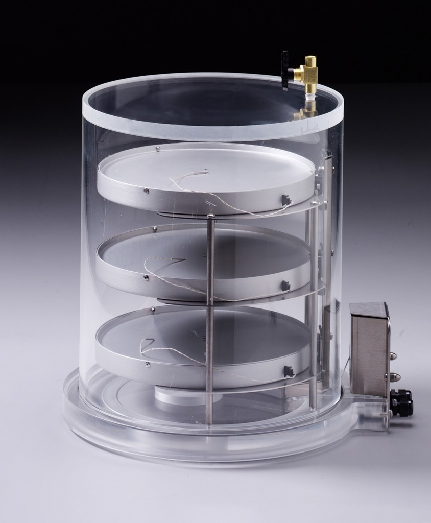 Heated Product Shelf Chamber-Short_For Lyophilizing bulk samples