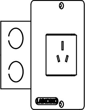Australia Electrical Receptacle 275