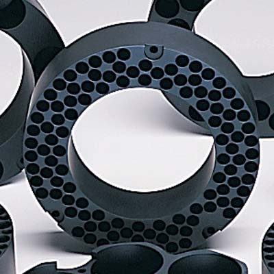 15ml Tube Size Teflon-Coated Aluminum Block