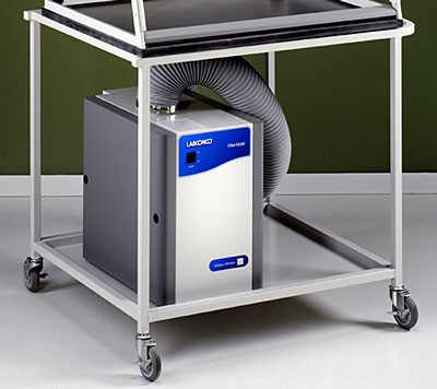 Cart for Protector Demonstration Hoods