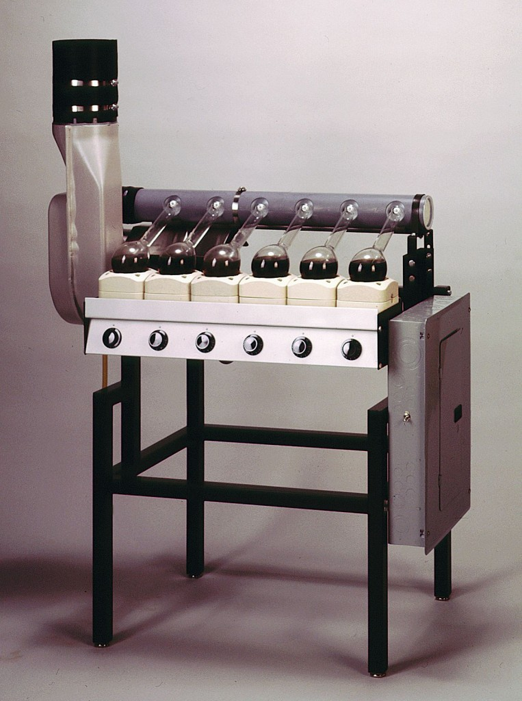 Six-Place Kjeldahl Digestion Apparatus with Water Ejector