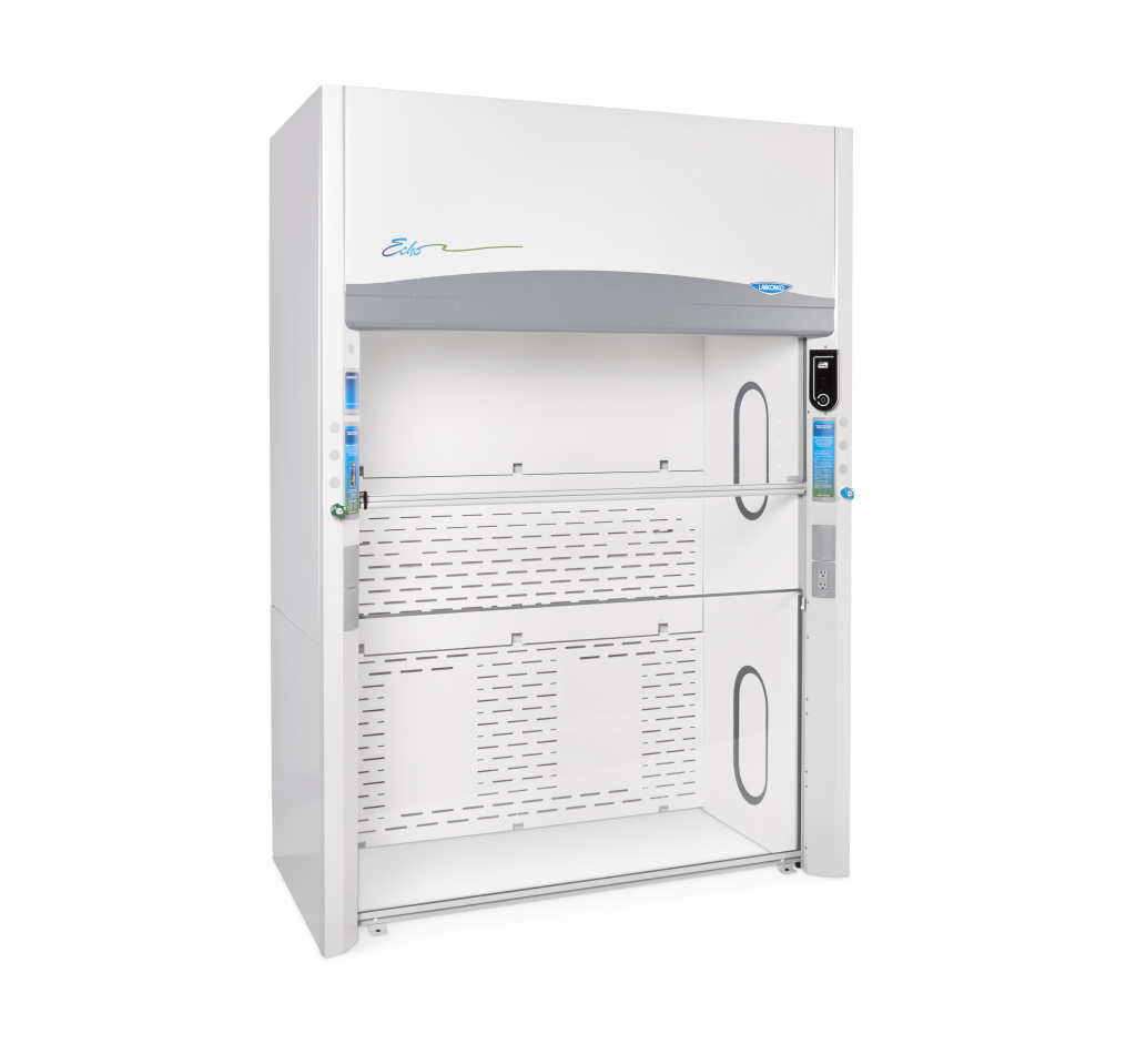 4' Protector Echo Floor-Mounted Filtered Fume Hood 115V