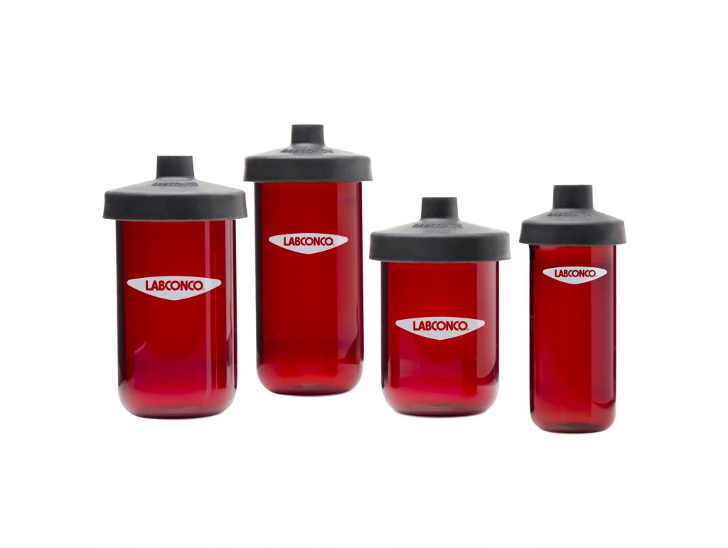 Amber Fast-Freeze Flasks Group