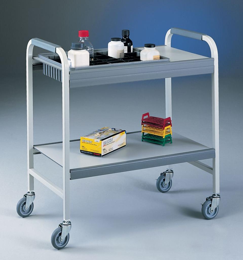 "Flexi-Bin Cart with 4"" bin"