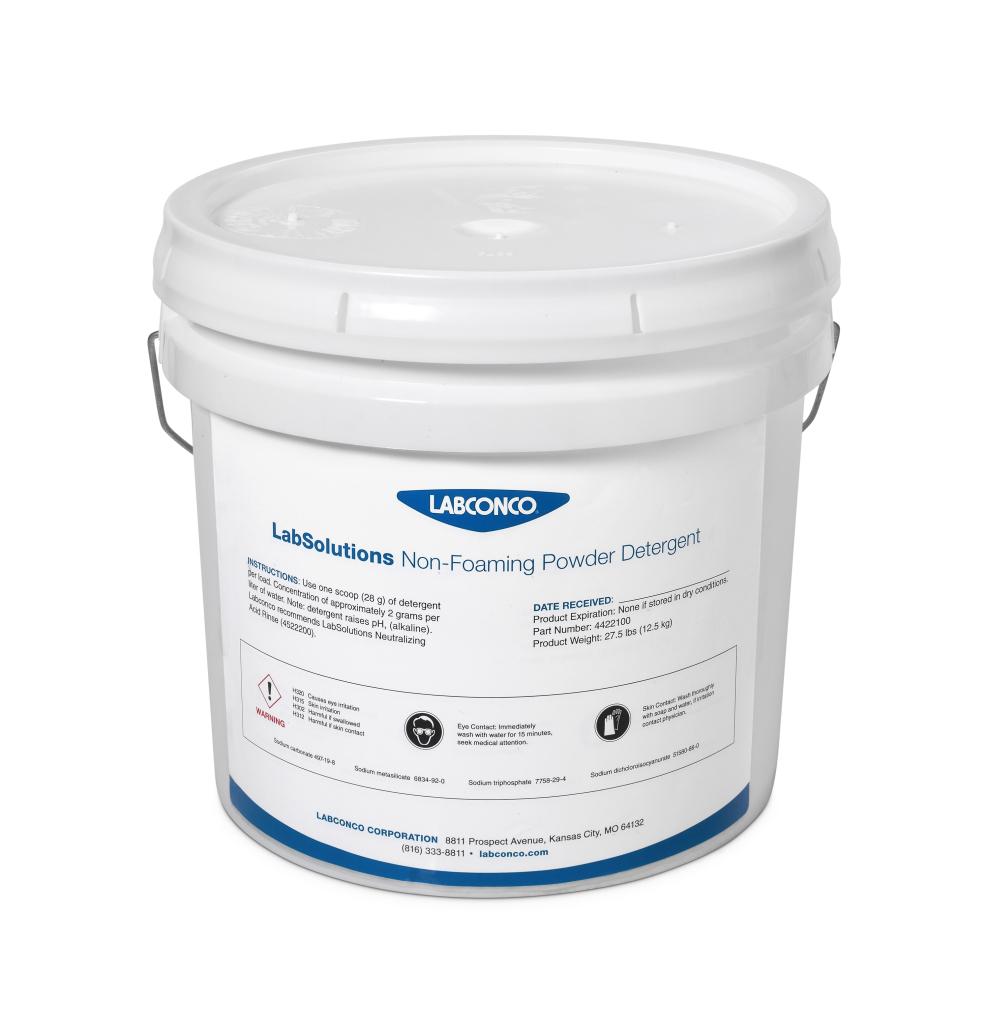LabSolutions Powder Detergent, Large Pail, 4422100