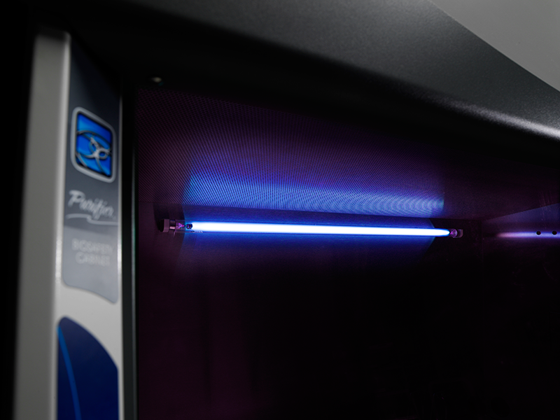 The good, the bad and the ugly of UV light usage in a Class II BSC ...