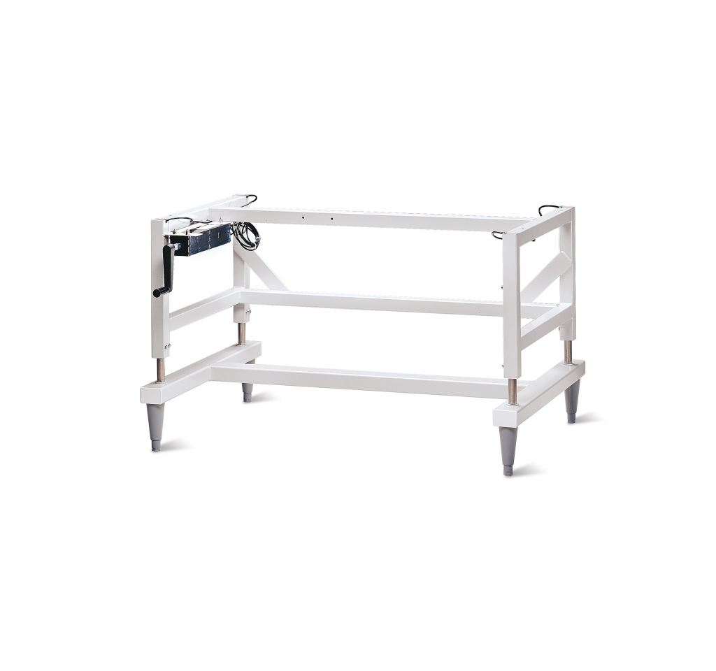 Manual Hydraulic Lift Base Stand with Left Side Handle