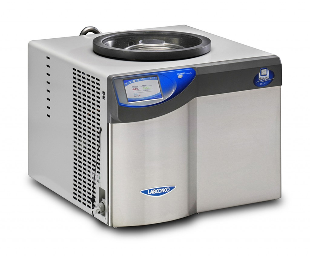 FreeZone 4 5 Liter -84C Benchtop Freeze Dryer - Labconco
