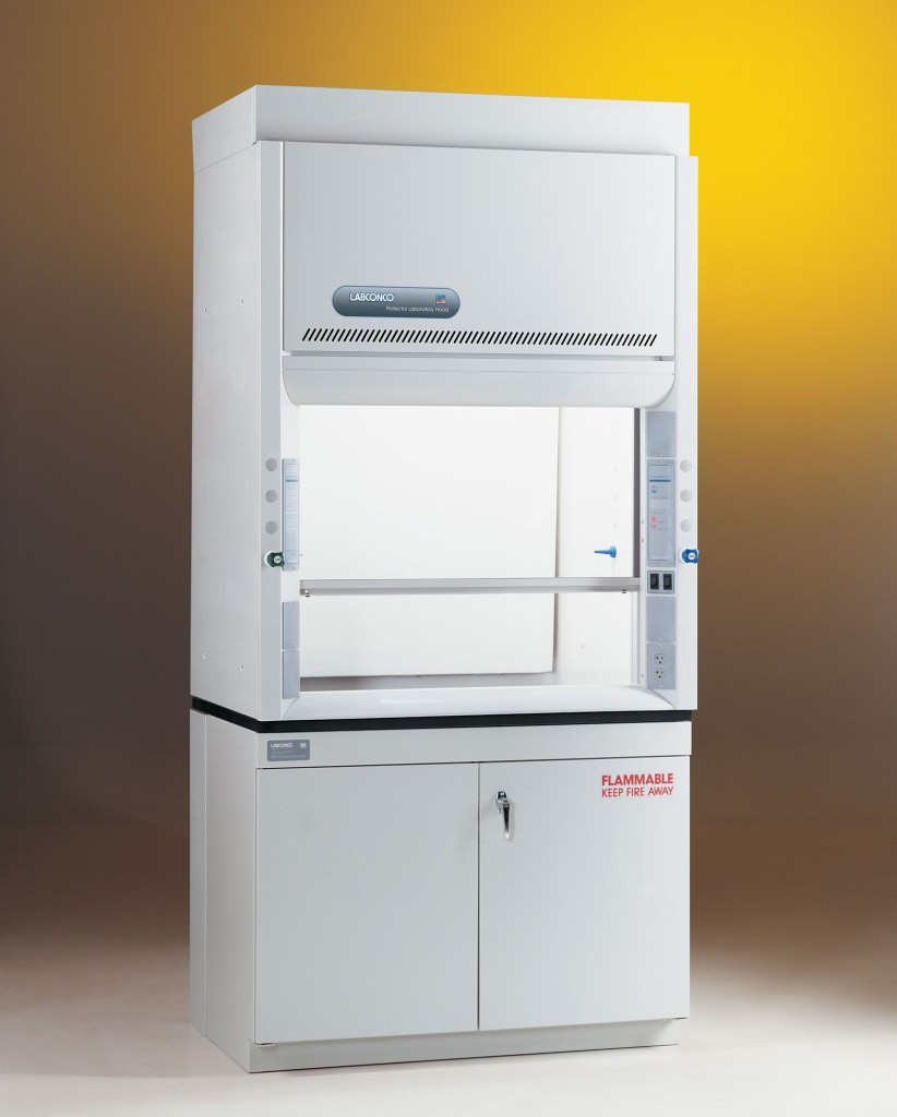 4' Protector Premier Laboratory Hood with built-in exhaust blower