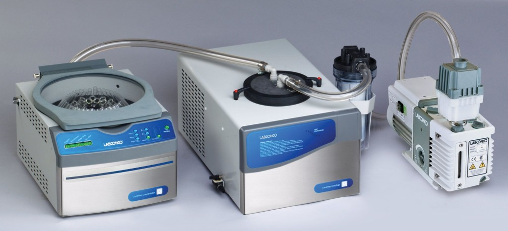 CentriVap Solvent Concentrator System