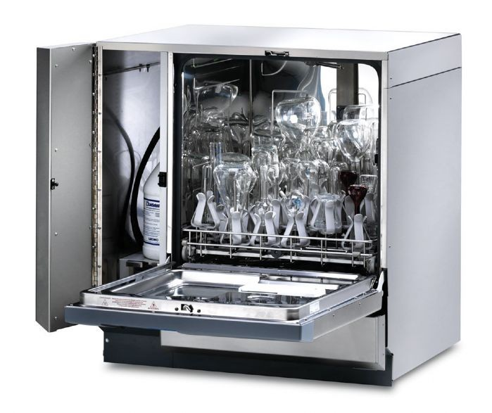 FlaskScrubber Vantage Series Glassware Washer with Viewing Window and Light