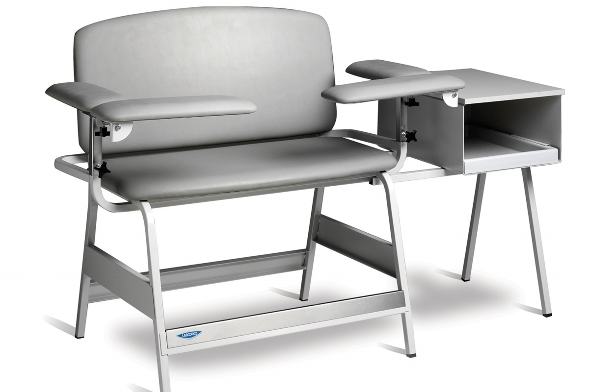 Bariatric Blood Drawing Chair with Cabinet2015