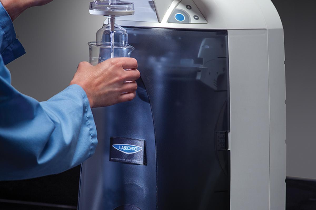 WaterPro BT in use