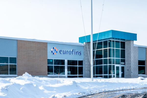 Eurofins Building in Winter