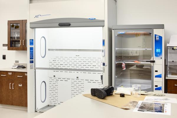 KBI Floor Mounted Fume Hood and Print Fixing Fuming Cabinet