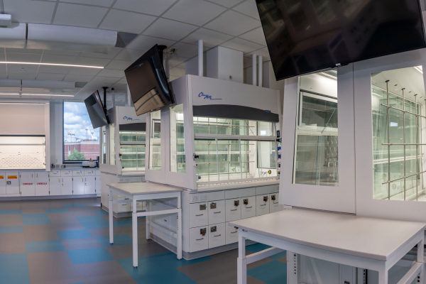 Chaney-Hale Hall ClassMate Fume Hood Array