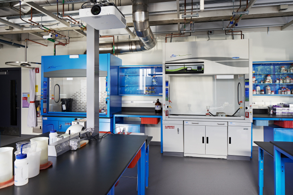 Efficient work spaces at Wellesley