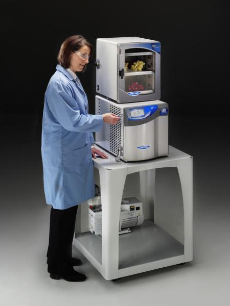 2.5 liter FreeZone Freeze Dryer with Small Tray Dryer