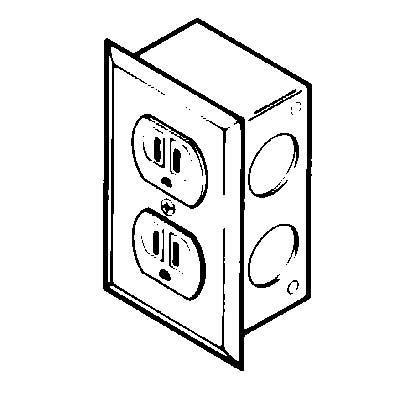 Duplex Electrical Receptacle Kit 230 Volts 20 Amps Ac Labconco
