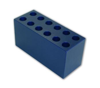 5 ml, 12 mm Aluminum Tube Racks (12 tubes)