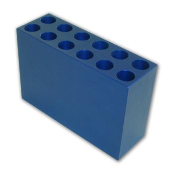15 ml conical, 16-17 mm Aluminum Tube Racks (12 tubes)