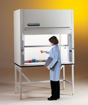 5' Protector Premier Laboratory Hood with built-in exhaust blower