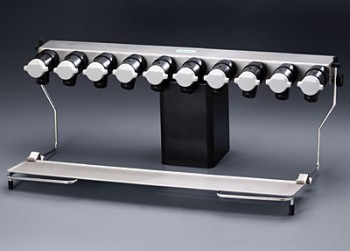 10-Port Manifold with Support Shelf
