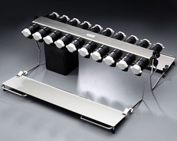 20-Port Manifold with Support Shelves